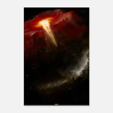 Agressif Heaven Hell - Poster 40 x 60 cm