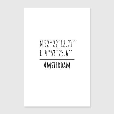 amsterdam wanddecoratie online bestellen spreadshirt