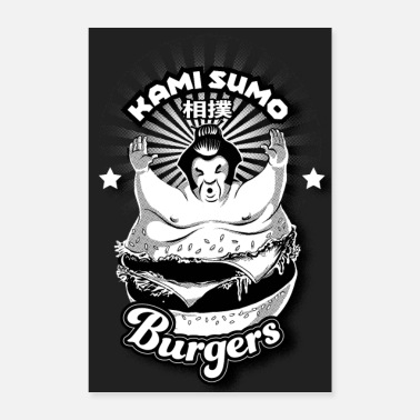 Chubby Burger Tokyo - Poster