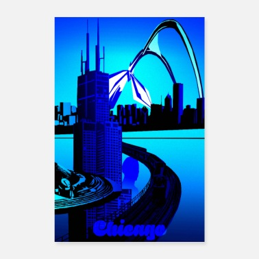 Chicago Chicagon design! - Juliste