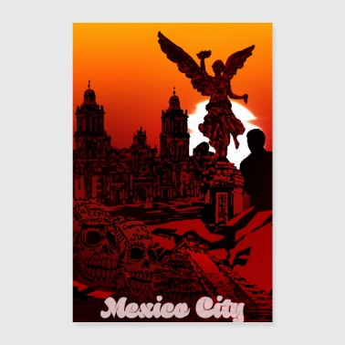 Mexico Stad - Poster 40x60 cm