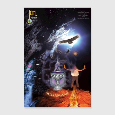 New Age 08 Shaman Soul Poster - Poster 40x60 cm