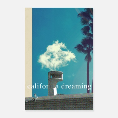 Los Angeles California Dreaming - Poster 40x60 cm