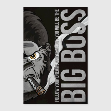 Affiche d'illustration Big Boss 61x91,5 - Poster 40 x 60 cm