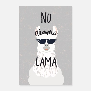 Good Mood no drama lama - Poster