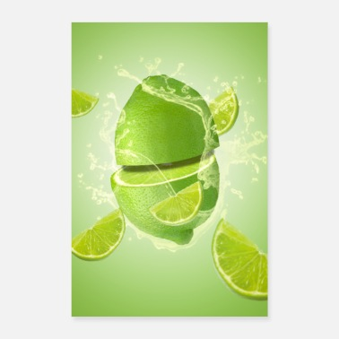 Food Collection lime - Poster