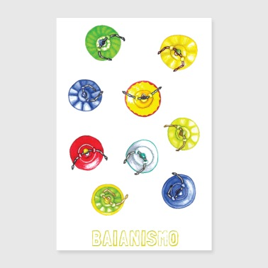 Baianismo POSTER - Poster 16 x 24 (40x60 cm)