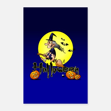 Laid Halloween - Poster 40 x 60 cm