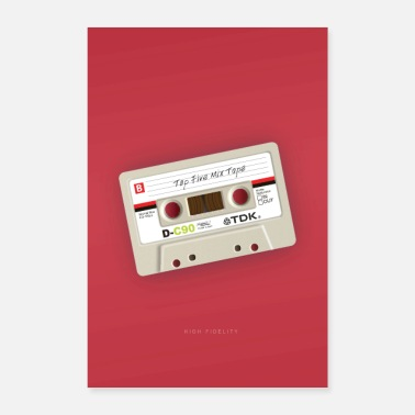 Tape High Fidelity - Poster 40x60 cm