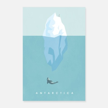 Antarctique ANTARCTIQUE - Poster