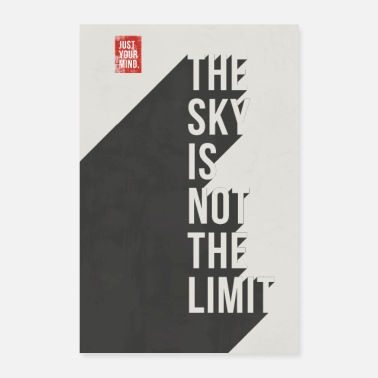 Push The Sky is not the Limit - Poster