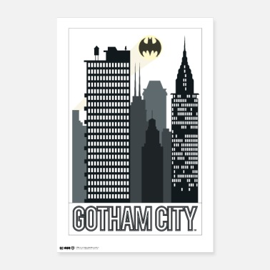Batman Gotham City - Juliste 40x60 cm