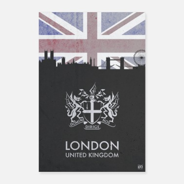 London In der Stadt: LONDON - Poster