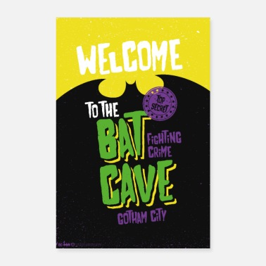 Batman Welcome To The Bat Cave - Poster