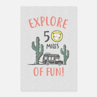 SmileyWorld Explore 50 Miles Of Fun - Poster