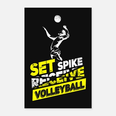 Beachvolley volleyball - Poster