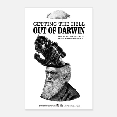 Darwin Getting the Hell out of Darwin - Poster