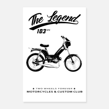 Moped Moped 103 - Poster