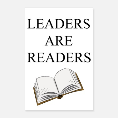 Reader Leaders are Readers - Poster