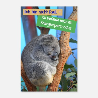 Statement Koala Sayings Statement Australia - Poster
