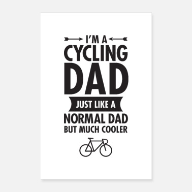 Radsport I'm A Cycling Dad - Poster