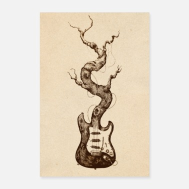 Guitar Player guitar - Poster