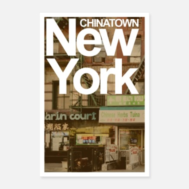CHINATOWN NEW YORK - Poster