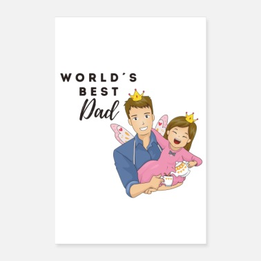 World's Best world's best dad / World's best dad / Father's Day - Poster