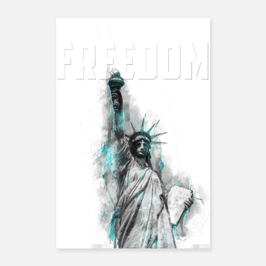 Demokratia Vapaus - Lady Liberty - Juliste