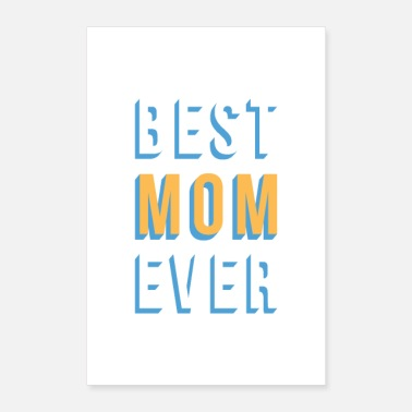 Mami Best Mom Ever - Poster