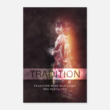 Tradition Tradition Japan - Poster