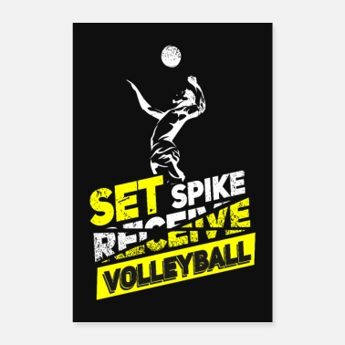 Volley Volleyball - Poster