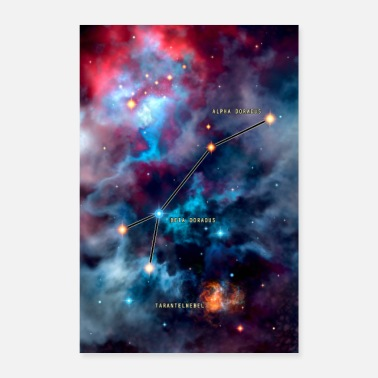 Galaxey swordfish - Poster
