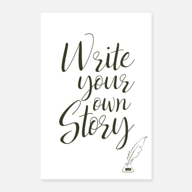 Owned write your own story - Poster