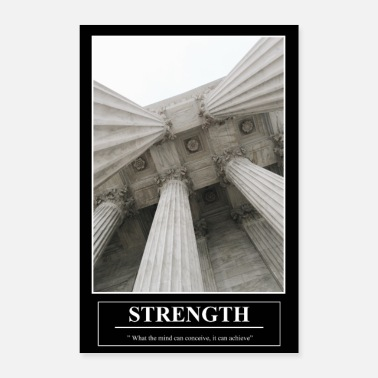 Barney's Motivational Poster STRENGHT - Poster