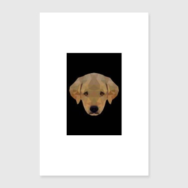 LABRADOR PUPPY GIFT DOG PET DOG LOVE - Poster 16 x 24 (40x60 cm)