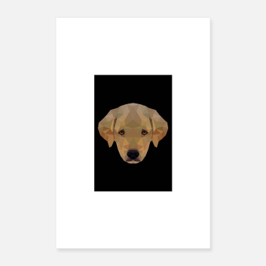 Pet LABRADOR PUPPY GIFT DOG PET DOG LOVE - Poster 16 x 24 (40x60 cm)