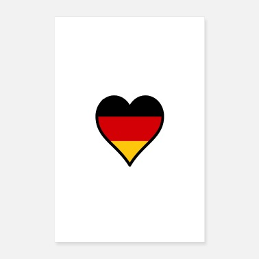 Country Alemania - Póster 40x60 cm