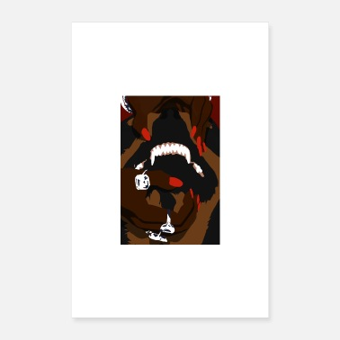 Classe Classy Rottweiler (versione 2) - Poster 40x60 cm