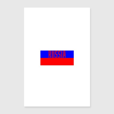 Russland - Poster 40x60 cm