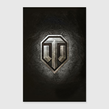 World of Tanks WoT logo - Poster 16 x 24 (40x60 cm)