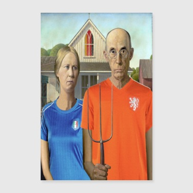 worldcup Gothic - Poster 40x60 cm
