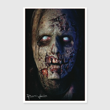 Zombie Poster - Poster 40 x 60 cm