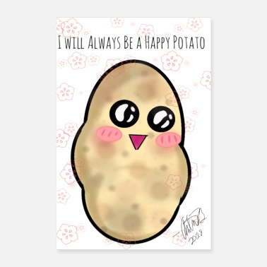 Credit Happy Happy Potato Poster - Poster