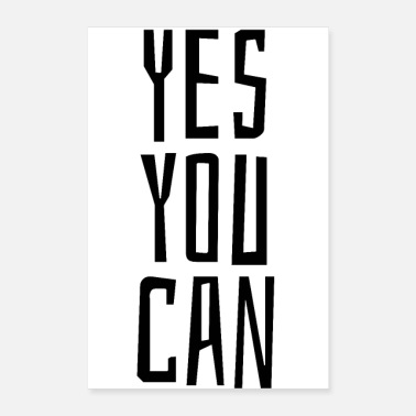 Jumpstyle Yes you can - Poster