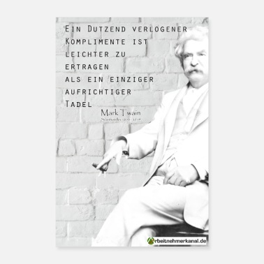 Occupation Twain lying compliments - Poster