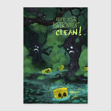 Umwelt Vergifted - Poster 40x60 cm