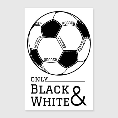 Kick Football poster - Poster 16 x 24 (40x60 cm)