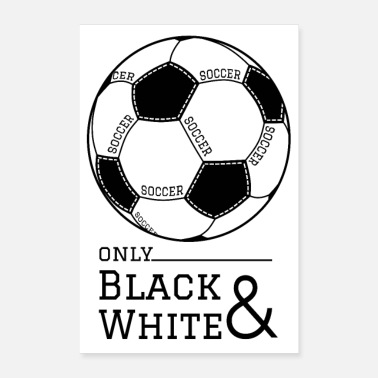 Football Team Football poster - Poster 16 x 24 (40x60 cm)