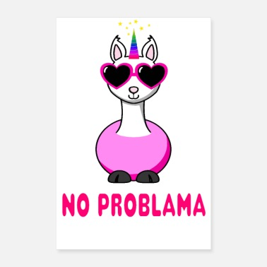 Asterisk No problem - Poster 16 x 24 (40x60 cm)